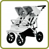 Carrito doble Sky DUO Silver - Carritos y Cochecitos