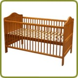 Cama de niño Louise, 140x70cm, transformable - Cunas