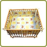 Rectangular playpen insert yellow - Parques y andadores