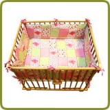 Rectangular playpen insert rose - Parques y andadores
